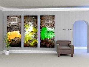 SuperNova Lightbox (36 x 96) for Trade Show, Event, or Retail Display -- Image 1